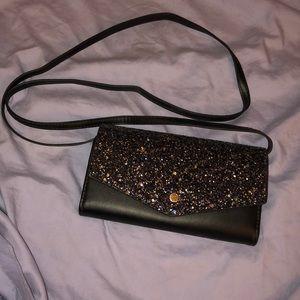 Handbags - Sparkly crossbody wallet
